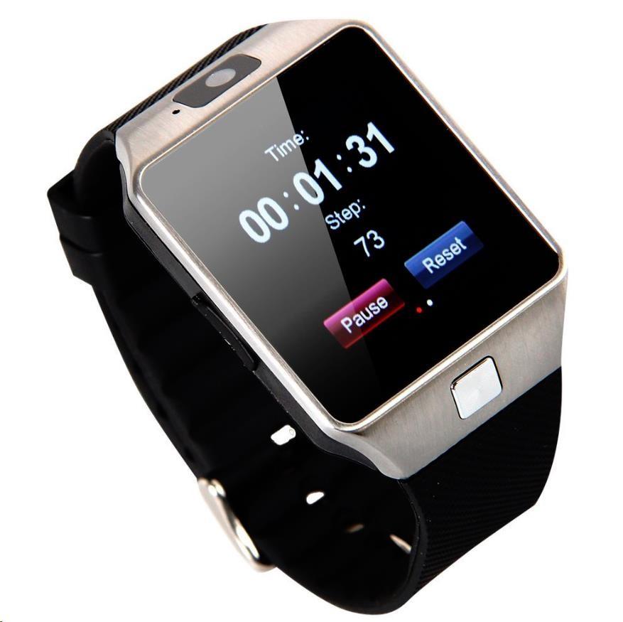 Hannspree PRIME SmartWatch (OLED, SIM, USB, Bluetooth, microSD, krokoměr, spánek, voděodolný, iOS 6+, Android 4.3+)
