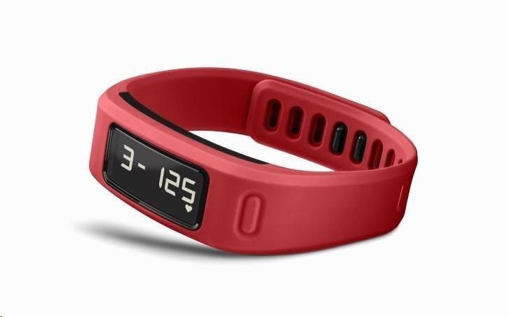 Garmin monitorovací náramek a hodinky vívofit Red