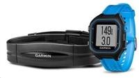 Garmin Forerunner 25, LG, Black/Blue, GPS, HRM1, EU
