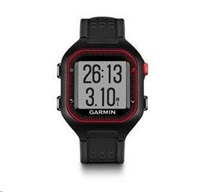 Garmin Forerunner 25, LG, Black/Red, GPS, EU