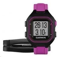 Garmin Forerunner 25, SM, Black/Purple, GPS, HRM1, EU
