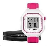 Garmin Forerunner 25, SM, White/Pink, GPS, HRM1, EU