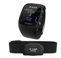 Polar M400, HR black