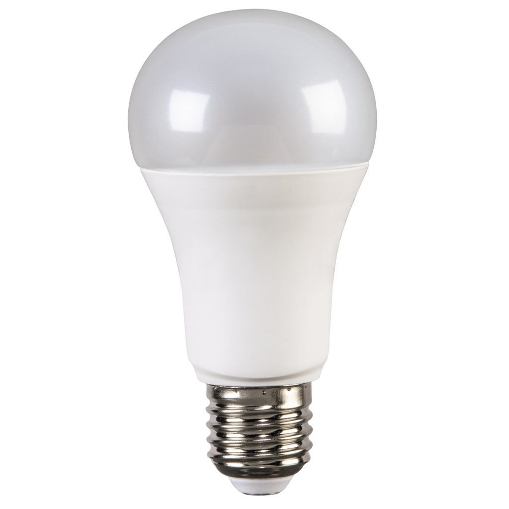 Xavax High Line LED Bulb, 14W, bulb shape, E27, dimmable, warm white