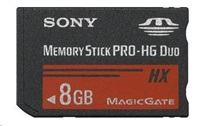 SONY MSHX8B Memory Stick PRO-HX Duo - 8GB