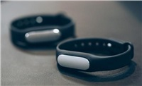 Xiaomi chytrý fitness náramek Mi Band 1s se senzorem srdečního tepu, černá