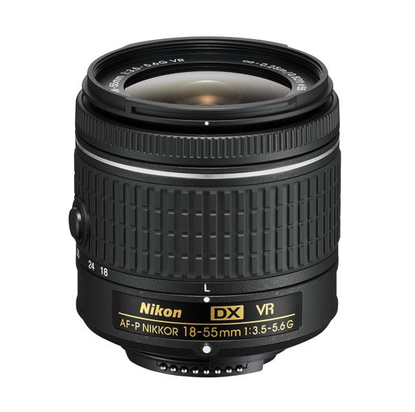 Nikon AF-P VR DX Zoom-Nikkor 18-55mm f/3.5-5.6G EDII (3,0x) černý