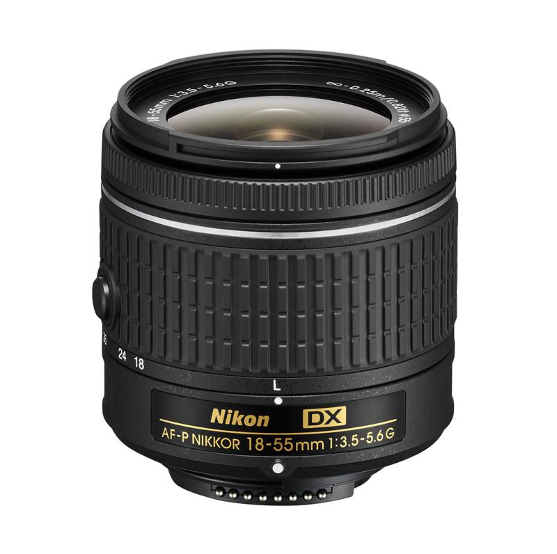 Nikon AF-P DX Zoom-Nikkor 18-55mm f/3.5-5.6G EDII (3,0x) černý
