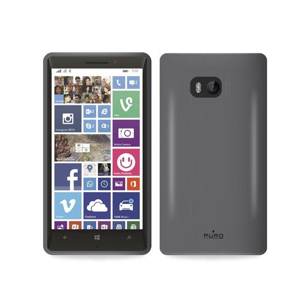 Puro silikonový kryt pro Nokia Lumia 930, černá