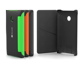 Nokia zadní kryt s flipem CP-634 pro Lumia 532, černá