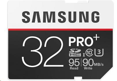 Samsung SDHC karta 32GB PRO Plus (Class 10 UHS-3)
