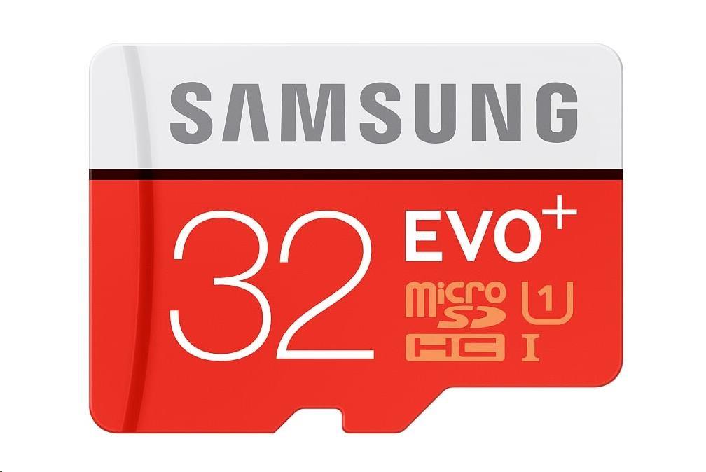 Samsung SDHC karta 32GB EVO Plus (Class 10 UHS-I)