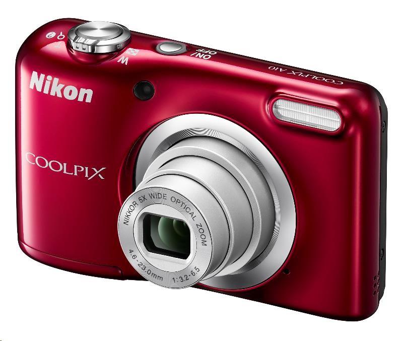 Nikon Coolpix A10 červený