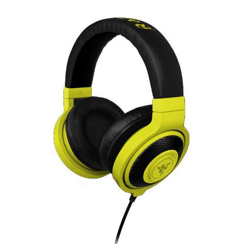 RAZER sluchátka s mikrofonem KRAKEN MOBILE Neon Yellow Gaming Headset