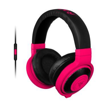 RAZER sluchátka s mikrofonem KRAKEN MOBILE Neon Red Gaming Headset