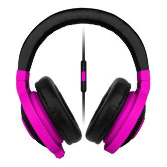 RAZER sluchátka s mikrofonem KRAKEN MOBILE Neon Purple Gaming Headset