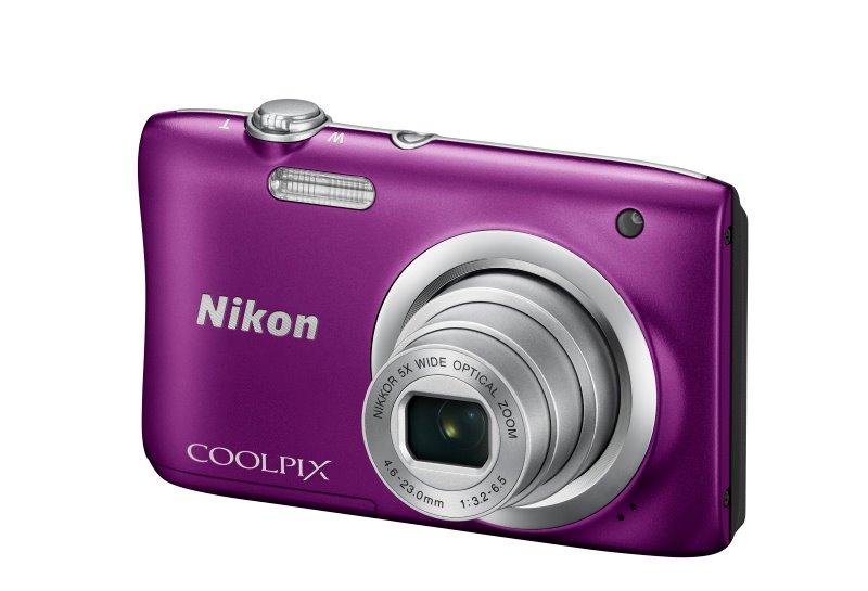 Nikon Coolpix A100 fialový