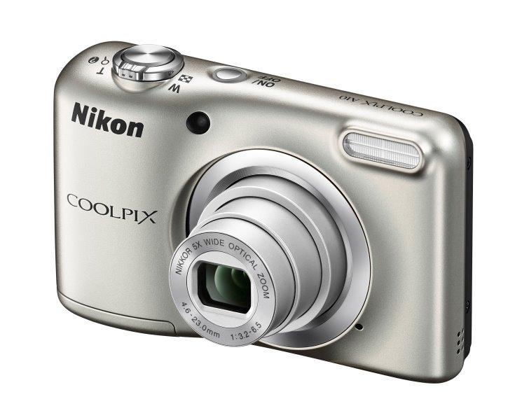 NIKON Coolpix A10 stříbrný