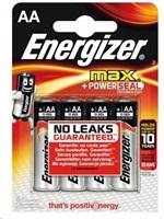 ENERGIZER MAX alkalické baterie Max LR06 Tužka AA BL4
