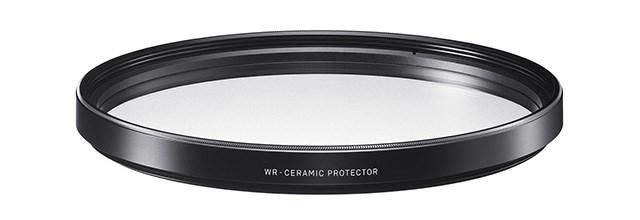 SIGMA filtr CERAMIC PROTECTOR 95mm WR, ochranný keramický filtr voděodpudivý