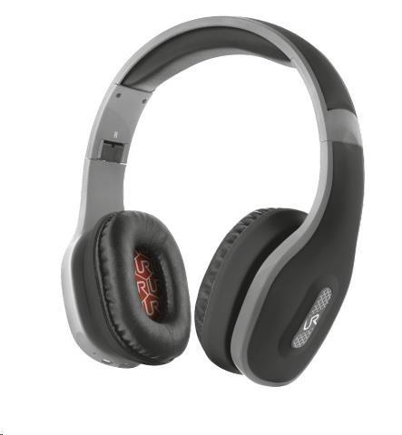 URBAN REVOLT Bezdrátová sluchátka Mobi Bluetooth Wireless Headphones - černé (bezdrátová, nabíjecí, bluetooth)