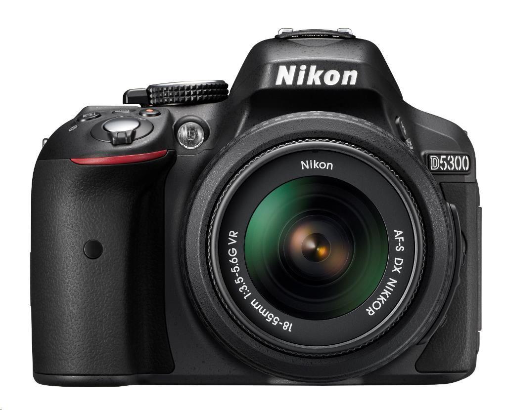 NIKON D5300 Black + 18-55 VR II AF-P DX