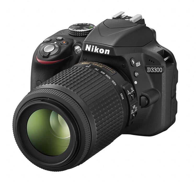 NIKON D3300 černá + 18-55 AF-P VR II + 55-200 AF-S VR II