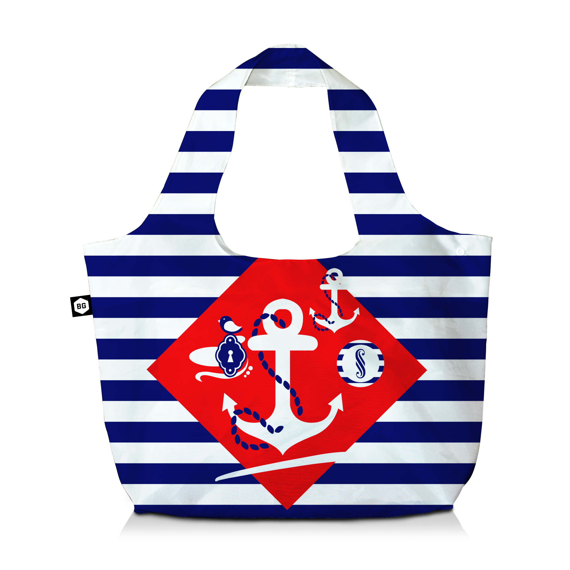 BG Berlin Eco Bag Navy Sense