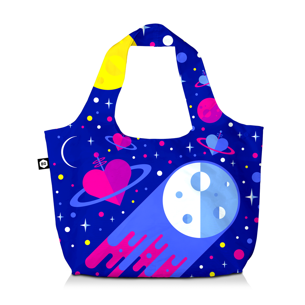 BG Berlin Eco Bag Cosmic Love