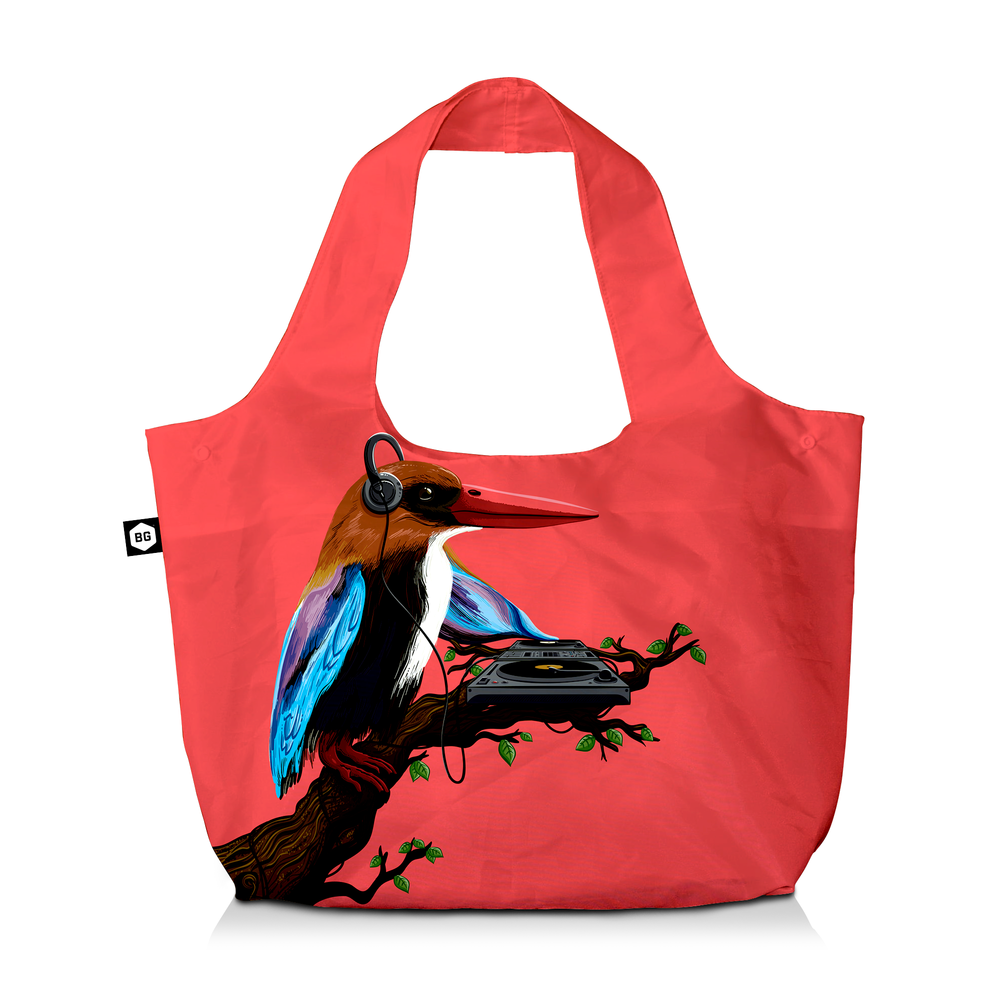 BG Berlin Eco Bag Tropical Sounds