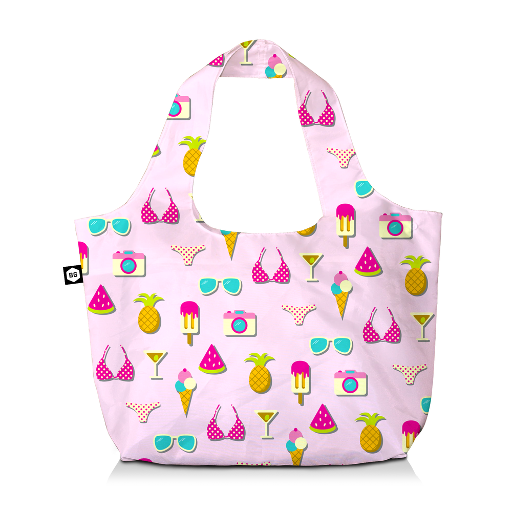 BG Berlin Eco Bag Pink Summer