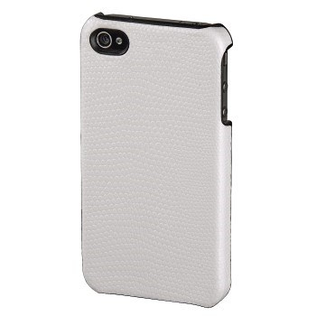 Hama snake Mobile Phone Cover for Apple iPhone 4, white