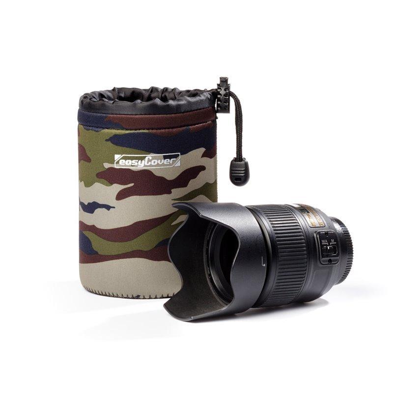 Easy Cover neoprénový obal na objektiv M - Camouflage
