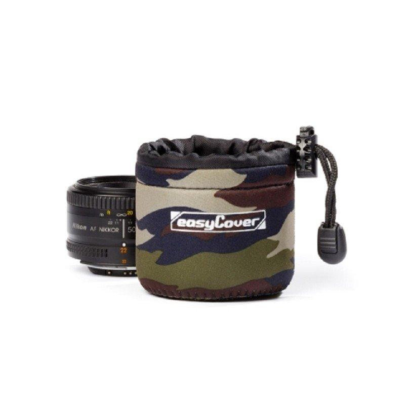 Easy Cover neoprénový obal na objektiv S - Camouflage