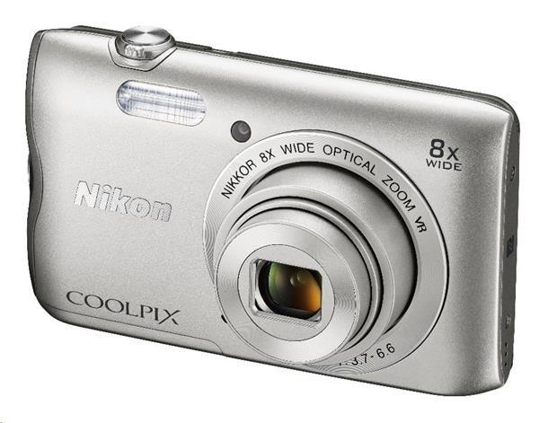 Nikon Coolpix A300 stříbrný