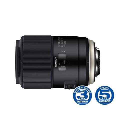 Objektiv Tamron AF SP 90mm F/2.8 Di Macro 1:1 VC USD pro Canon