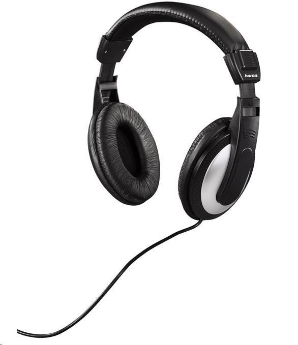 Hama sluchátka HK-5619 k TV, uzavřená, černá/stříbrná