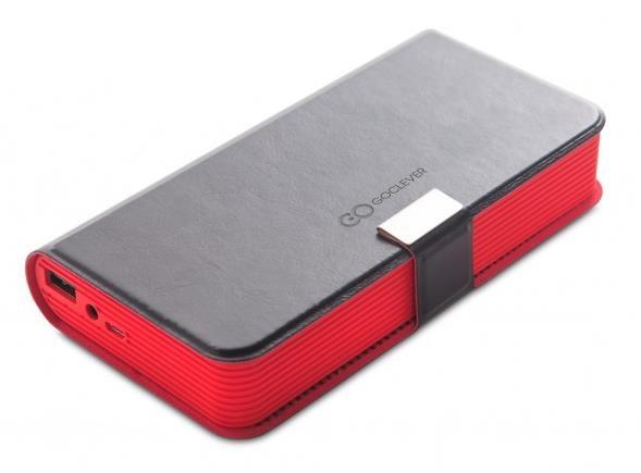 GOCLEVER Bluetooth reproduktor Sound Book, černá - funkce Powerbank a HandsFree