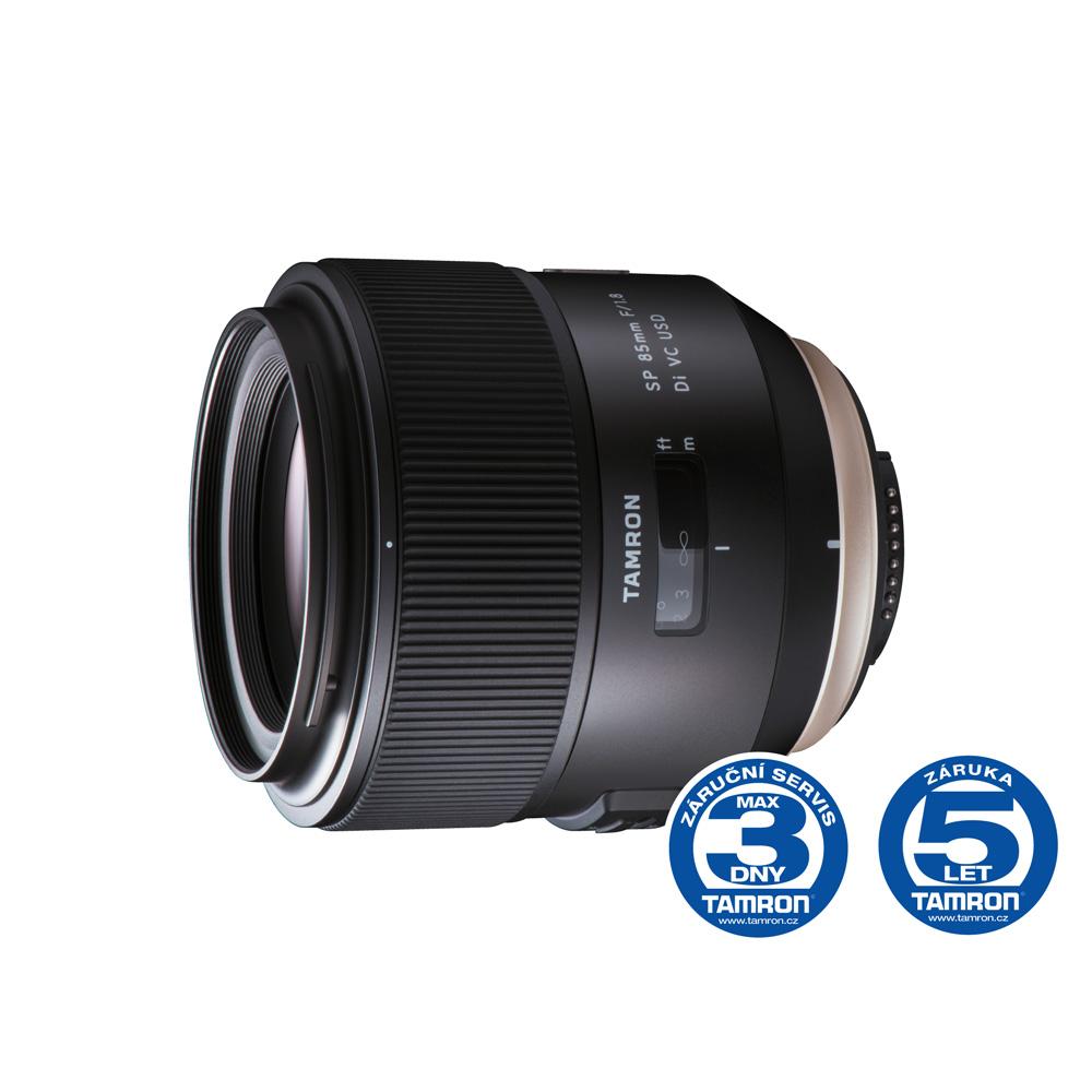 Objektiv Tamron AF SP 85mm F/1.8 Di VC USD pro Canon