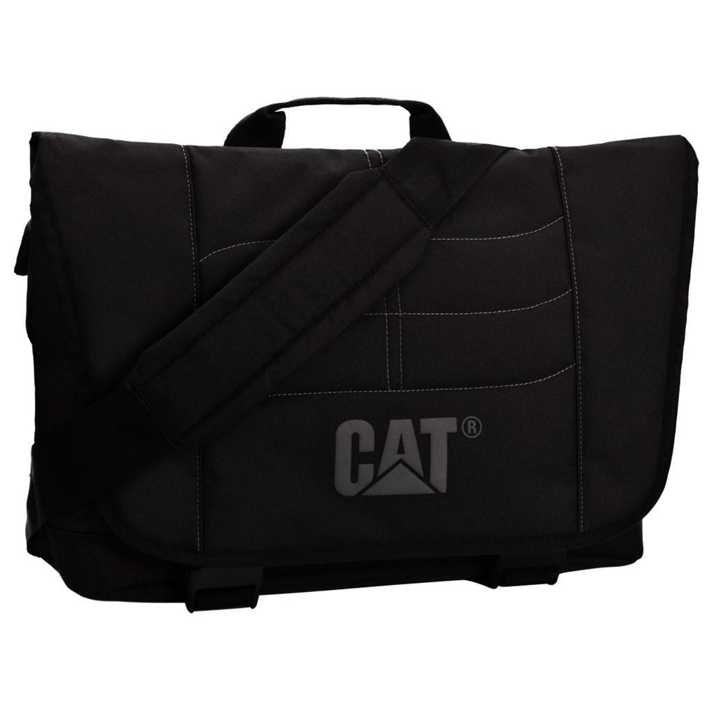 """CAT Charles Millennial, taška přes rameno, černá, 15,6"""""""