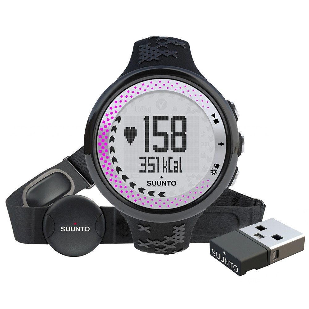 Suunto M5 Women Black Silver + Movestick Pack