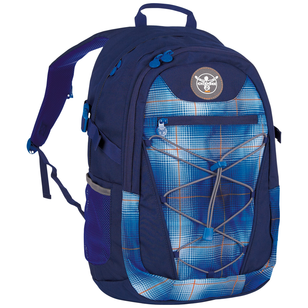 Chiemsee Herkules backpack S16 Plaid regatta