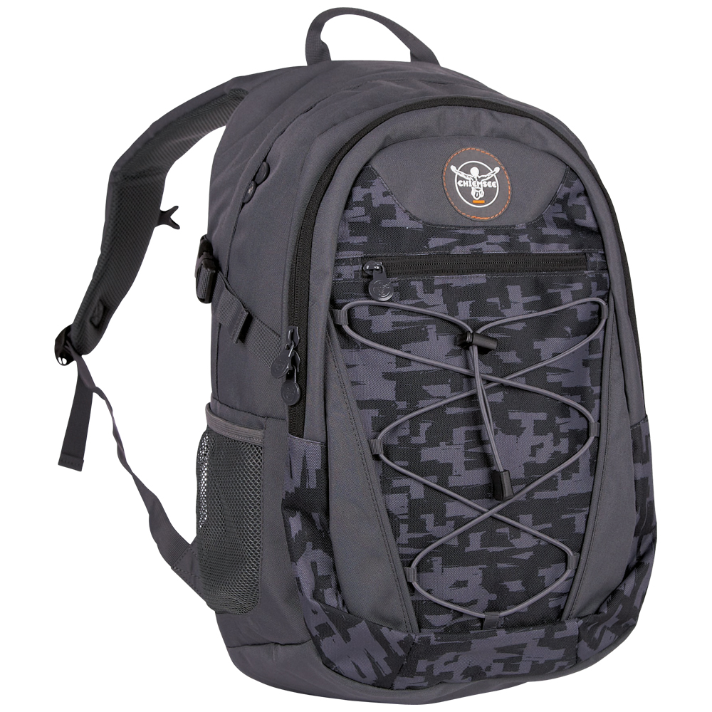 Chiemsee Herkules backpack S16 Typo black