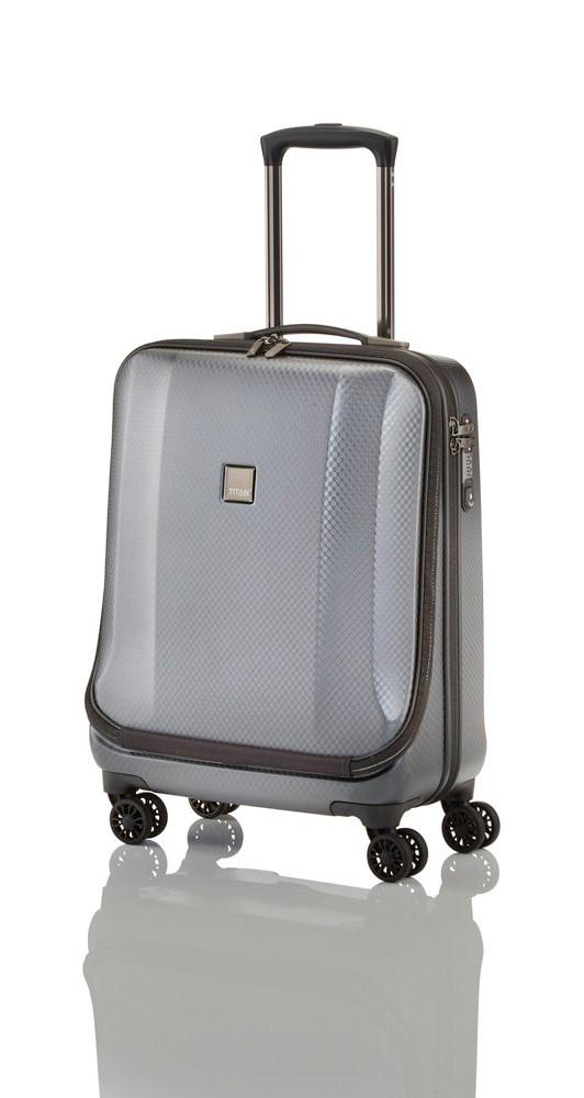 Titan Xenon Deluxe Business Wheeler Silver