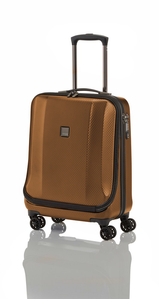 Titan Xenon Deluxe Business Wheeler Brown