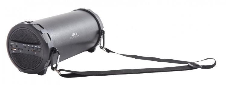 GOCLEVER Sound Tube Black - přenosný BT reproduktor