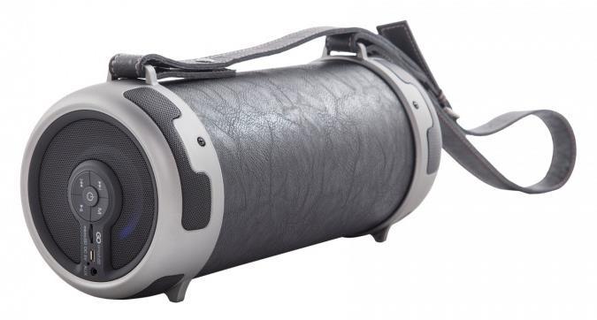 GOCLEVER Sound Tube XL Black - přenosný BT reproduktor