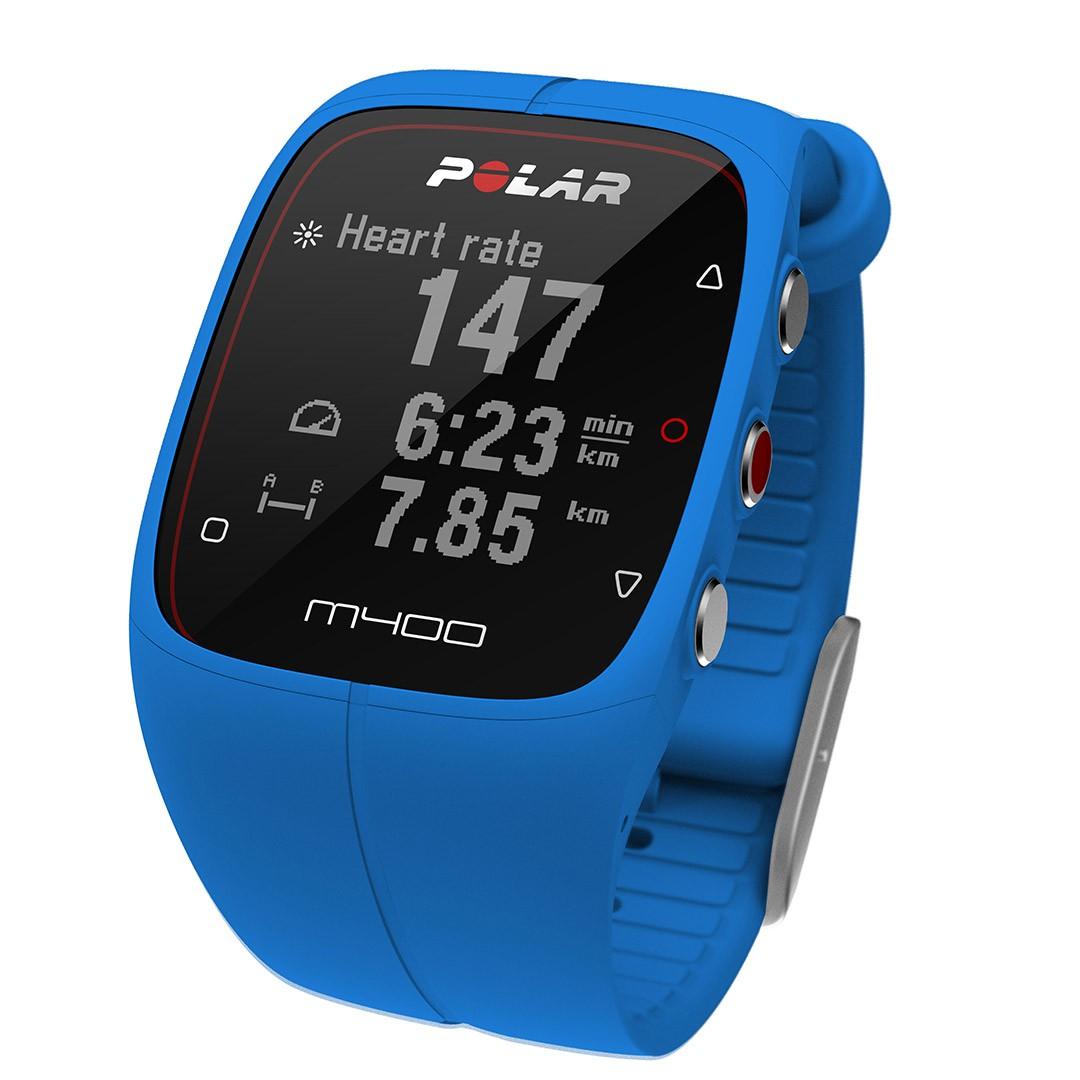 Polar M400 modré
