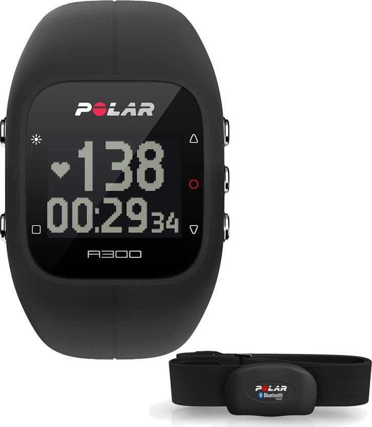Polar A300 HR, černá