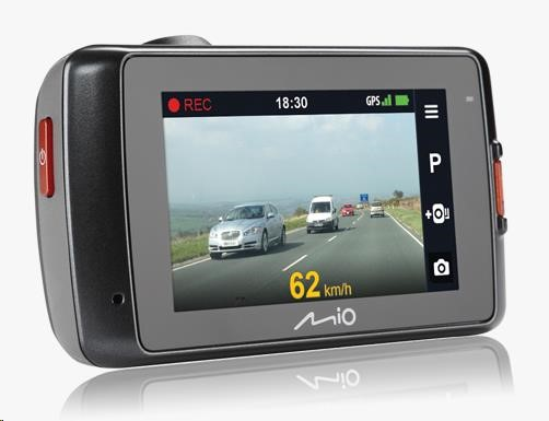 MIO MiVue 698 DUAL 1080p DashCam - kamera pro záznam jízdy
